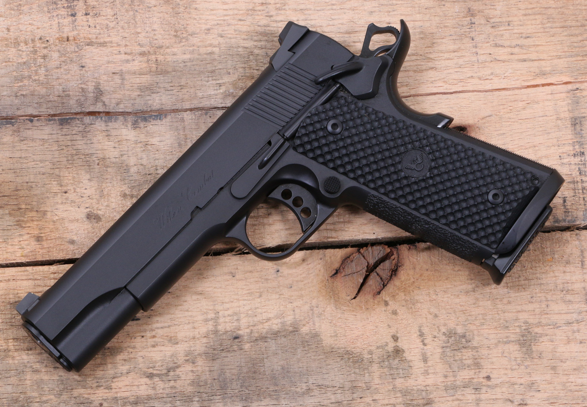 The cqb compact pistol has all the features of a full size cqb but is